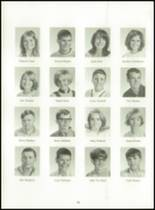 1969 Dutton High School Yearbook Page 20 & 21