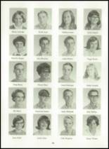 1969 Dutton High School Yearbook Page 24 & 25