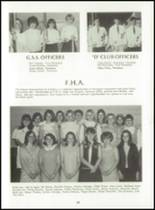 1969 Dutton High School Yearbook Page 42 & 43