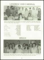 1969 Dutton High School Yearbook Page 44 & 45