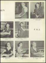 1957 Pleasantville High School Yearbook Page 28 & 29
