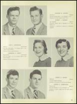 1957 Pleasantville High School Yearbook Page 34 & 35