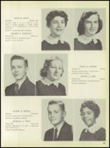 1957 Pleasantville High School Yearbook Page 42 & 43