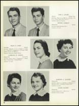 1957 Pleasantville High School Yearbook Page 44 & 45