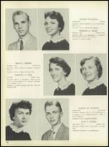 1957 Pleasantville High School Yearbook Page 46 & 47