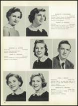 1957 Pleasantville High School Yearbook Page 48 & 49