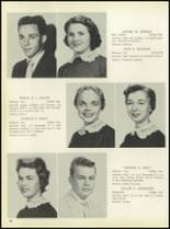 1957 Pleasantville High School Yearbook Page 50 & 51