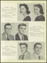 1957 Pleasantville High School Yearbook Page 54 & 55