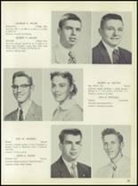 1957 Pleasantville High School Yearbook Page 56 & 57