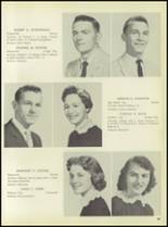 1957 Pleasantville High School Yearbook Page 62 & 63