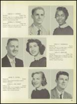 1957 Pleasantville High School Yearbook Page 66 & 67