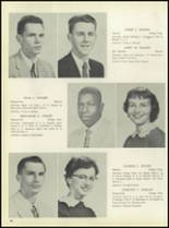1957 Pleasantville High School Yearbook Page 70 & 71