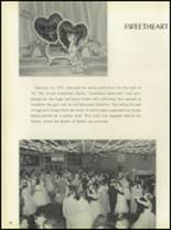 1957 Pleasantville High School Yearbook Page 82 & 83
