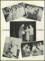1957 Pleasantville High School Yearbook Page 84 & 85
