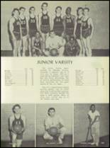 1957 Pleasantville High School Yearbook Page 110 & 111