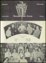 1957 Pleasantville High School Yearbook Page 126 & 127