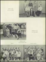 1957 Pleasantville High School Yearbook Page 128 & 129