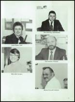 1985 Potlatch High School Yearbook Page 54 & 55