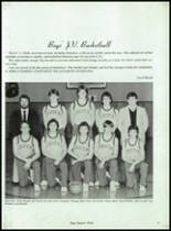 1985 Potlatch High School Yearbook Page 84 & 85