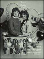 1985 Potlatch High School Yearbook Page 106 & 107
