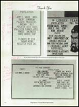 1985 Potlatch High School Yearbook Page 122 & 123
