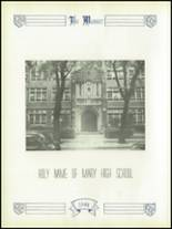 1944 Holy Name of Mary High School Yearbook Page 14 & 15