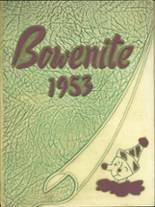 1953 Yearbook Bowen High School