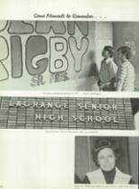 1973 LaGrange High School Yearbook Page 174 & 175