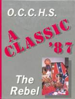 1987 Yearbook Obion County Central High School