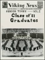 1951 North High School Yearbook Page 12 & 13