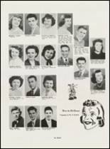 1951 North High School Yearbook Page 16 & 17