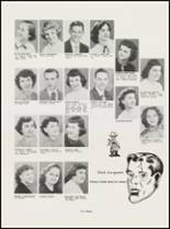 1951 North High School Yearbook Page 18 & 19