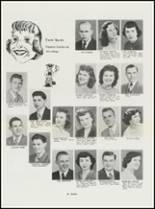1951 North High School Yearbook Page 34 & 35