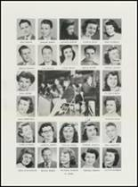 1951 North High School Yearbook Page 48 & 49