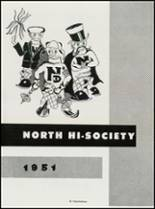 1951 North High School Yearbook Page 56 & 57