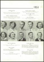 1954 East High School Yearbook Page 18 & 19