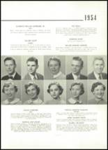 1954 East High School Yearbook Page 26 & 27