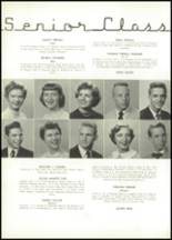 1954 East High School Yearbook Page 28 & 29