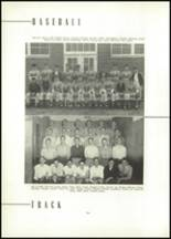 1954 East High School Yearbook Page 58 & 59