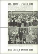 1954 East High School Yearbook Page 76 & 77