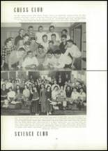 1954 East High School Yearbook Page 84 & 85