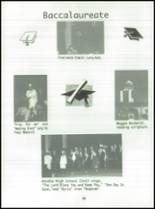1996 Bendle High School Yearbook Page 34 & 35