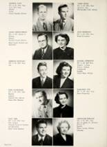 1950 Hamilton Township High School Yearbook Page 14 & 15