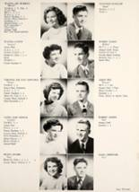 1950 Hamilton Township High School Yearbook Page 16 & 17