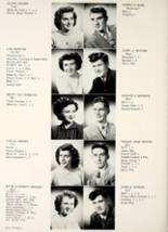 1950 Hamilton Township High School Yearbook Page 18 & 19