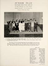 1950 Hamilton Township High School Yearbook Page 38 & 39