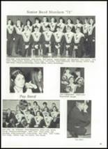 1971 Twin Valley South High School Yearbook Page 66 & 67