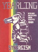 1985 Yearbook Rolling Meadows High School