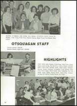 1959 Vanhornesville Central S High School Yearbook Page 34 & 35