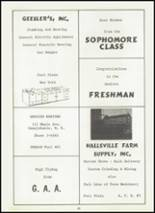 1959 Vanhornesville Central S High School Yearbook Page 58 & 59